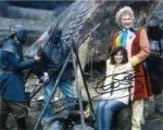 Colin Baker as the Doctor Signed 10 x 8 Photograph #p32